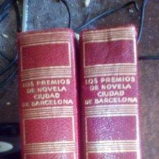 Libros de segunda mano: PREMIOS DE NOVELA CIUDAD DE BARCELONA. 2 TOMOS. Lote 75482751
