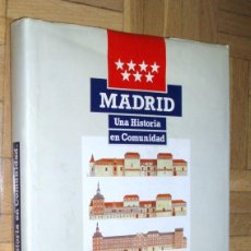 Libros de segunda mano: MADRID. UNA HISTORIA EN COMUNIDAD - FERNANDO AZNAR. Lote 75506559
