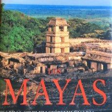 Libros de segunda mano: LOS MAYAS. UNA CIVILIZACIÓN MILENARIA. Lote 75574678
