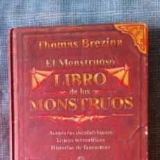 Libros de segunda mano: EL MONSTRUOSO LIBRO DE LOS MONSTRUOS.- THOMAS BREZINA. ILUSTRACIONES DE BERNHARD FÖRTH. ED SM 1998. Lote 75763819