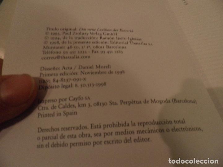 Libros de segunda mano: Diccionario del esoterismo, Marc Roberts, Thassalia, 1998 - Foto 3 - 75778327