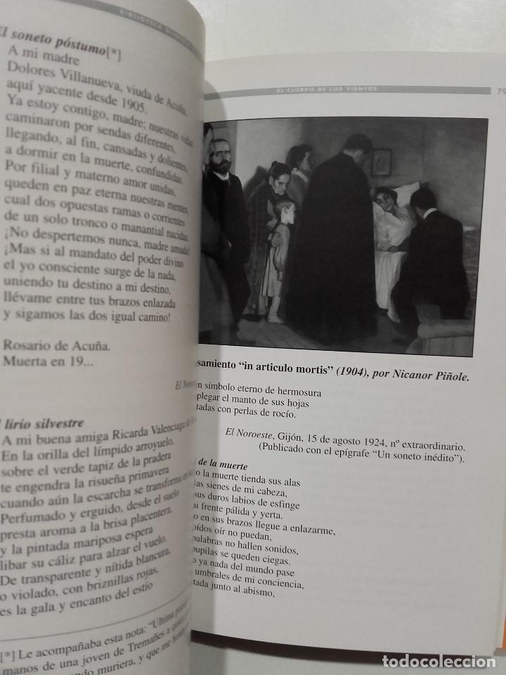Libros de segunda mano: Biblioteca Gijonesa del siglo XX - Gijon El cuerpo de los vientos. Cuatro literarios - Jose Bolado - Foto 2 - 75792507