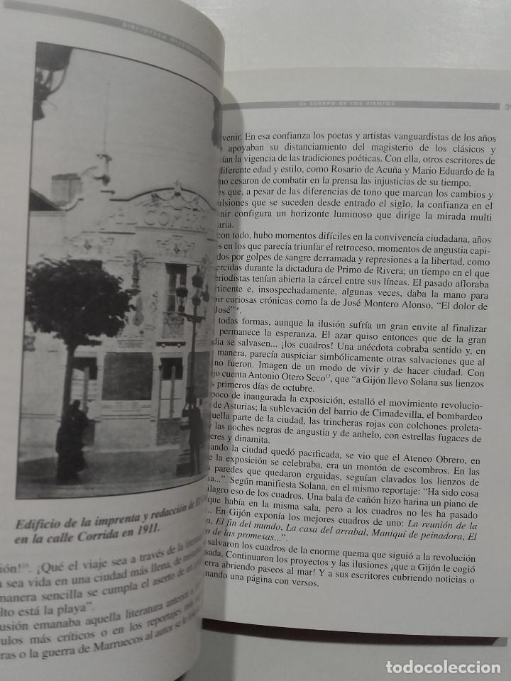 Libros de segunda mano: Biblioteca Gijonesa del siglo XX - Gijon El cuerpo de los vientos. Cuatro literarios - Jose Bolado - Foto 4 - 75792507