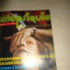 Libros de segunda mano: TELEPSIQUIA. REVISTA. NÚMEROS 1 A 4. FEBRERO A MAYO 1977 EN UN TOMO EN TELA.. Lote 75816567