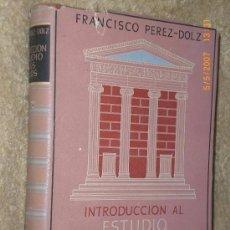 Libros de segunda mano: INTRODUCCIÓN AL ESTUDIO DE LOS ESTILOS.. Lote 75943923