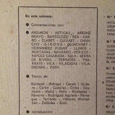 Libros de segunda mano: TROPOS, Nº 7-8. PROCESO DE CREACIÓN Y PROBLEMAS ACTUALES DE LA PINTURA. (REVISTA DE ARTE. 1973. Lote 262657875