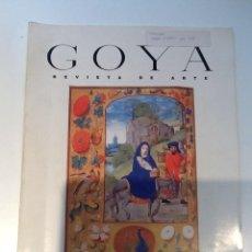Libros de segunda mano: REVISTA DE ARTE GOYA Nº 219 MADRID 1990 PERE YSERN. Lote 75991787