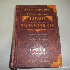 Libros de segunda mano: THOMAS BREZINA EL MONSTRUOSO LIBRO DE LOS MONSTRUOS CIRCULO DE LECTORES. Lote 76090231