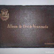Libros de segunda mano: ALBUM DE ORO DE VENEZUELA. 1942. EDIT. Y AUT. ANTONIO M. MONTEAGUDO DEL RIO. ANTONIO ESCÁNEZ GUTI. Lote 76210431