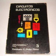 Libros de segunda mano: ELÍAS MUÑOZ MERINO (COORD.). CIRCUITOS ELECTRÓNICOS: DIGITALES I. RMT78924. . Lote 76218111