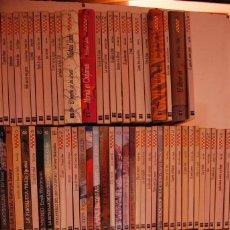 Libros de segunda mano: COLECCION COMPLETA LIBROS COLECCION GRAN ANGULAR. Lote 76635955