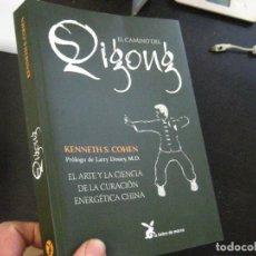 Libros de segunda mano: EL CAMINO DEL QIGONG, COHEN CURACION ENERGETICA CHINA, LIEBRE DE MARZO ED. Lote 76633867