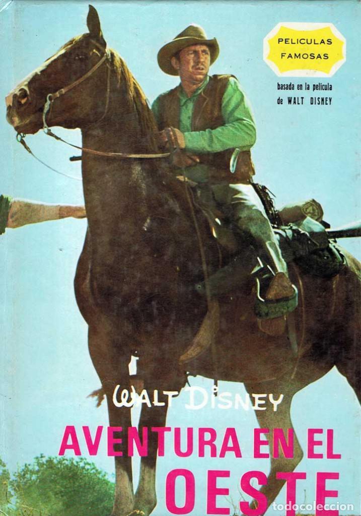 AVENTURA EN EL OESTE - WALT DISNEY. GAISA 1968 (Libros de Segunda Mano - Literatura Infantil y Juvenil - Otros)