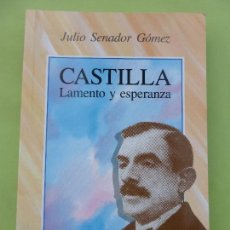 Libros de segunda mano: CASTILLA LAMENTO Y ESPERANZA - SENADOR GOMEZ JULIO - AMBITO - LIBRO PERFECTO ESTADO. Lote 76736875