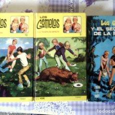 Libros de segunda mano: COLECCION DE TRES TOMOS DE - LOS GEMELOS - Nº 3 , 9 Y10 AÑOS 1972 Y 77 L.L.HOPE - TORAY EDITORIAL IL. Lote 76796175