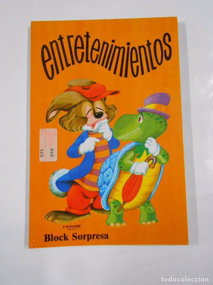 ENTRETENIMIENTOS BLOCK SORPRESA. TEXTOS Y DIBUJOS COIRAS. SUSAETA EDICIONES. TDK94 (Libros de Segunda Mano - Literatura Infantil y Juvenil - Otros)