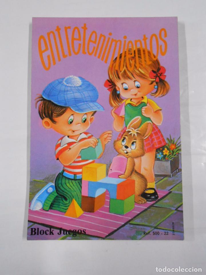 ENTRETENIMIENTOS BLOCK JUEGOS. TEXTOS Y DIBUJOS COIRAS. EDICIONES SUSAETA. TDK94 (Libros de Segunda Mano - Literatura Infantil y Juvenil - Otros)