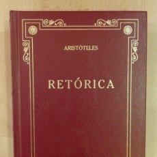 Libros de segunda mano: ARISTÓTELES: RETÓRICA (GREDOS). Lote 77380785