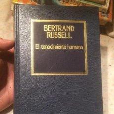 Libros de segunda mano: ANTIGUO LIBRO EL CONOCIMIENTO HUMANO ESCRITO POR BERTRAND RUSSELL AÑO 1983 . Lote 77561981