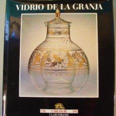 Libros de segunda mano: VIDRIO DE LA GRANJA. MINISTERIO DE CULTURA. AÑO 1988. BUEN ESTADO. . Lote 77608857