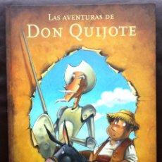 Libros de segunda mano: LAS AVENTURAS DE DON QUIJOTE ANNA OBIOLS ILUSTRACIONES SUBI EDITORIAL LUMEN TAPA DURA GRAN FORMATO. Lote 77637065