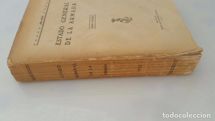 ESTADO GENERAL DE LA ARMADA - AÑO 1972 (Libros de Segunda Mano - Historia - Otros)