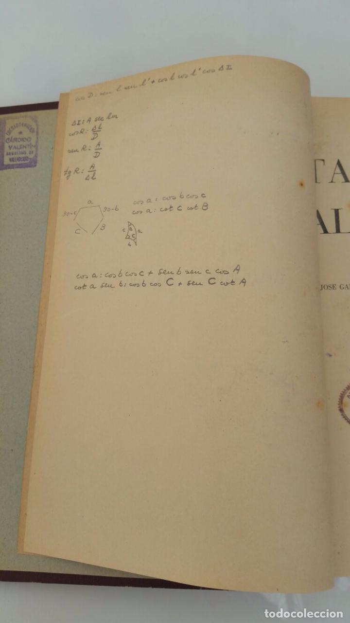 Libros de segunda mano: TABLAS UTILES AL NAVEGANTE - 1947 - Foto 3 - 77736861