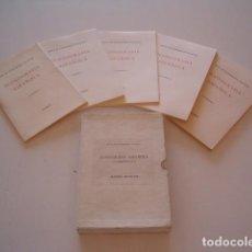 Libros de segunda mano: ICONOGRAFÍA ESPAÑOLA. CUADERNOS I AL V. CINCO TOMOS. RMT79184. . Lote 77813517