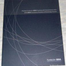 Libros de segunda mano: PREMIOS FUNDACIÓN BBVA. FRONTERAS DEL CONOCIMIENTO 2010.. Lote 77858181