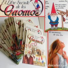 Libros de segunda mano: EL LIBRO SECRETO DE LOS GNOMOS - LOTE LIBROS VIDA GNOMO NATURALEZA HISTORIA INFANTIL JUVENIL AÑOS 80. Lote 77898717
