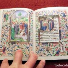 Libros de segunda mano: FACSÍMIL DEL LIBRO DE HORAS DE MARÍA DE BORGOÑA, ¡EDICIÓN ÍNTEGRA!. Lote 97511763