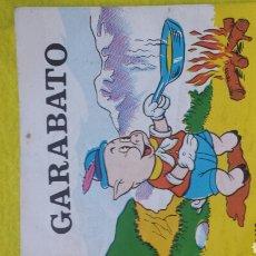 Libros de segunda mano: GARABATO N°102- MINI CUADERNO PARA COLOREAR ED. BOGA BILBAO . AÑOS 70. Lote 78432029