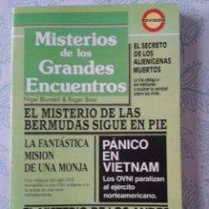 Libros de segunda mano: MISTERIOS DE LOS GRANDES ENCUENTROS. Lote 78451089