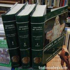 Libros de segunda mano: HISTORIA DE ESPAÑA. ESPAÑA PRIMITIVA TOMO I. 3 VOLÚMENES, I-II-III. MENÉNDEZ PIDAL,RAMÓN. A-HE-813. Lote 78569877