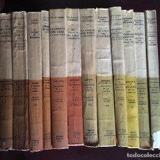 Libros de segunda mano: PANORAMA GENERAL DE HISTORIA DE LA CIENCIA ( 12 VOLUMENES ). ALDO MIELI. Lote 78619805