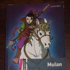 Libros de segunda mano: MULAN. OXFORD.RETOLD BY JANET HARDY-GOULD. STARTER. LIBRO EN INGLES. VER FOTOS Y DESCRIPCION. Lote 79104589
