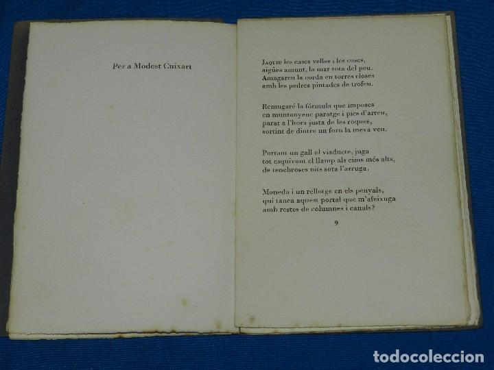 Libros de segunda mano: JOAN BROSSA - SONETS DE CARUIXA (EDICION DE 70 EJEMPLARES PAPEL DE HILO) JOAN PONÇ, TAPIES, CUIXART - Foto 3 - 79148141