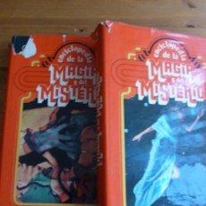 Libros de segunda mano: ENCICLOPEDIA DE LA MAGIA Y DEL MISTERIO (TOMOS I Y II) VVAA EDITORIAL: NAUTA (1975) . Lote 79482121