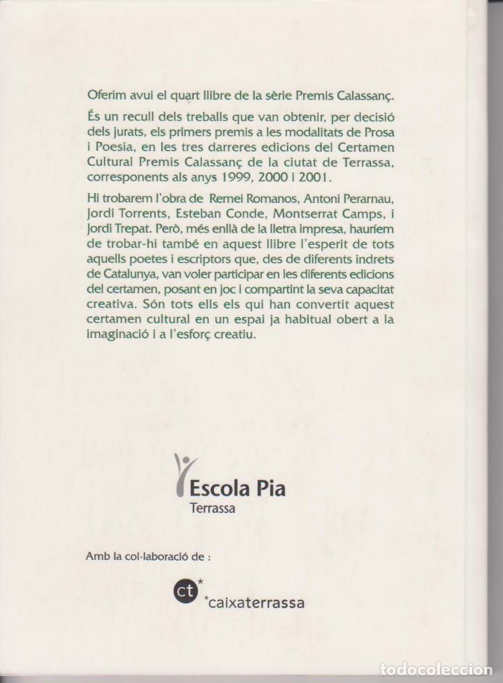 Libros de segunda mano: PREMIS CALASSANÇ DE LA CIUTAT DE TERRASSA 1999-2001 - ANTONI PERARNAU - ESCOLA PIA 1993 - Foto 2 - 79583553
