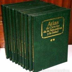Libros de segunda mano: ATLAS DE CIENCIAS DE LA NATURALEZA Y LA SALUD 10T POR VARIOS AUTORES DE EDIBOOK EN BARCELONA 1990. Lote 79760641