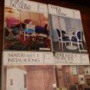 Libros de segunda mano: ENCICLOPEDIA CEAC DE DECORACION,10 TOMOS, 1ª 1967, TELA C/SOBREC.28X22, VER DETALLE MATERIAS.. Lote 79780001