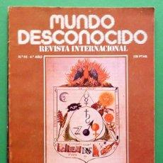 Libros de segunda mano: REVISTA MUNDO DESCONOCIDO - Nº 46 - ABRIL 1980 - VARIOS AUTORES - VER INDICE. Lote 79827393