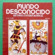 Libros de segunda mano: REVISTA MUNDO DESCONOCIDO - Nº 58 - ABRIL 1981 - VARIOS AUTORES - VER INDICE. Lote 79827573