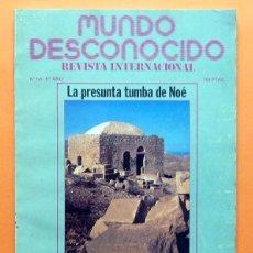 Libros de segunda mano: REVISTA MUNDO DESCONOCIDO - Nº 59 - MAYO 1981 - VARIOS AUTORES - VER INDICE. Lote 79827601