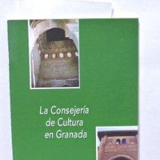 Libri di seconda mano: LA CONSEJERÍA DE CULTURA EN GRANADA. RUIZ RUIZ, M. BARBOSA GARCÍA, Mª.V. GRANADA 2002. Lote 98526314
