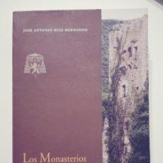 Libros de segunda mano: LOS MONASTERIOS JERÓNIMOS ESPAÑOLES - J. ANTONIO RUIZ HERNANDO CAJA SEGOVIA. Lote 79939129