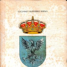 Livres d'occasion: BREVE HISTORIA DE LA MUY NOBLE VILLA DE AGUILAR DE CAMPOO (L. HUIDOBRO 1980) SIN USAR. Lote 79945025