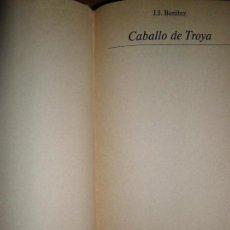 Libros de segunda mano: CABALLO DE TROYA, J.J. BENÍTEZ, PRIMERA EDICIÓN NUMERADA, MUNDO ACTUAL DE EDICIONES, 1984. Lote 148168353