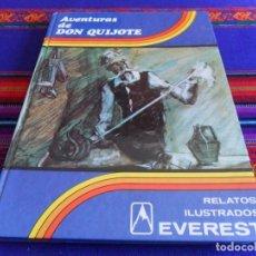 Libros de segunda mano: AVENTURAS DE DON QUIJOTE. COLECCIÓN ESTRELLA POLAR. RELATOS ILUSTRADOS EDITORIAL EVEREST. 1980. BE.. Lote 79989853