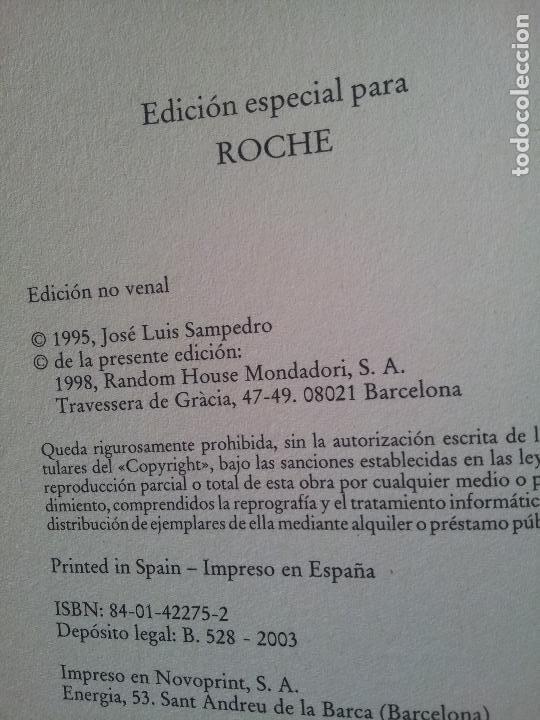 Libros de segunda mano: MONTE SINAI,JOSE LUIS SAMPEDRO-EDICION ESPECIAL PARA ROCHE - Foto 2 - 79997829
